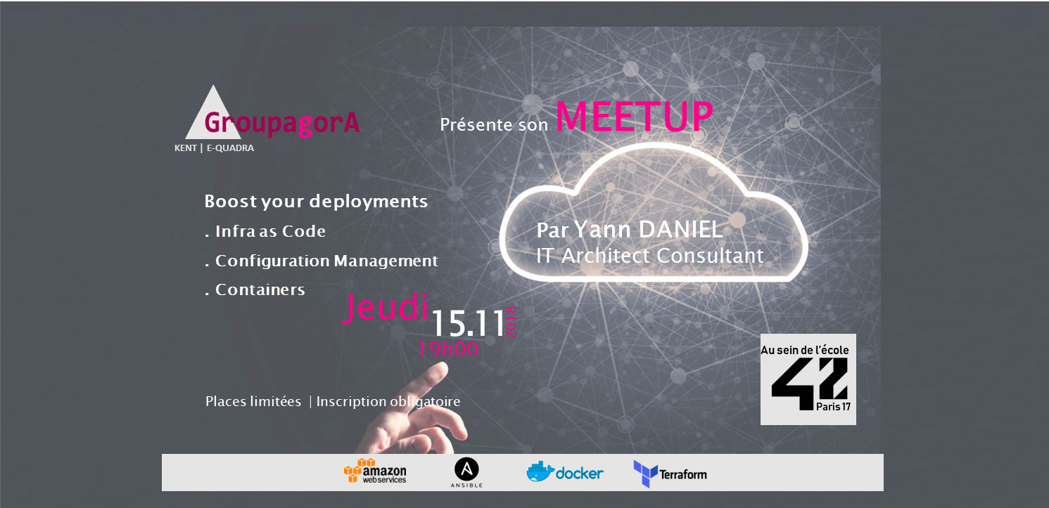 Save the date : MEETUP à l'Ecole 42